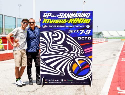 GP di Misano: Aldo Drudi crea il poster ufficiale