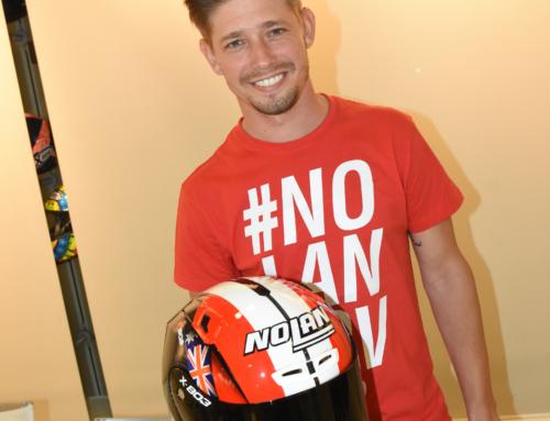 Nolan: un casco speciale per Stoner