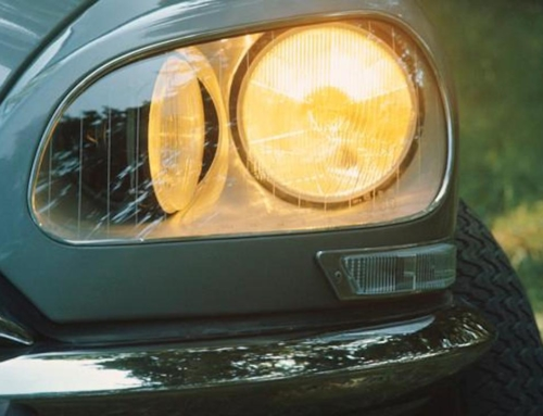 I fari della Citroën DS e le corde da pianoforte