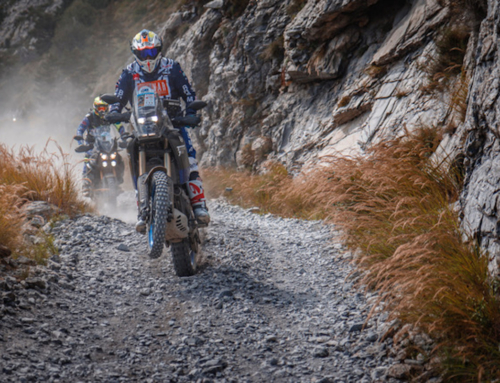 Yamaha all'Africa Eco Race 2019 con Alex Botturi