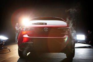 Mazda 3 rear